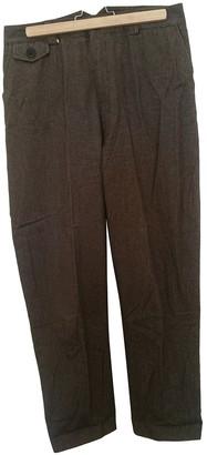 Et Vous Brown Cotton Trousers for Women