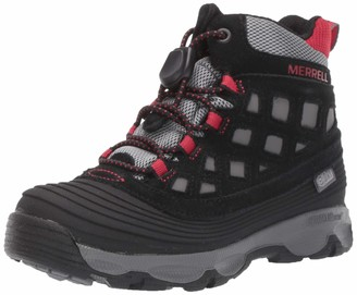 Merrell Thermoshiver 2.0 Waterproof Boot Big Kid 13 Black/Red