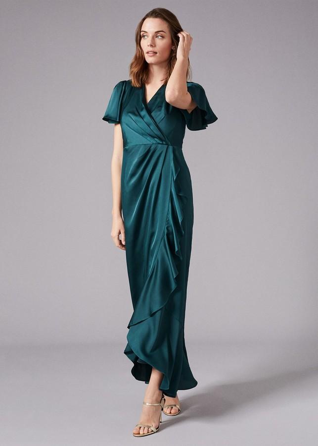 Phase Eight Philippa Frill Maxi Dress