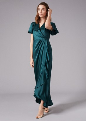 Phase Eight Philippa Frill Maxi Dress