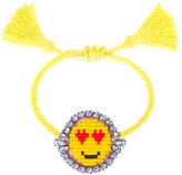 Shourouk Emoji Heart Eye Bracelet