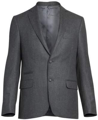 Officine Generale Flannel Wool Jacket