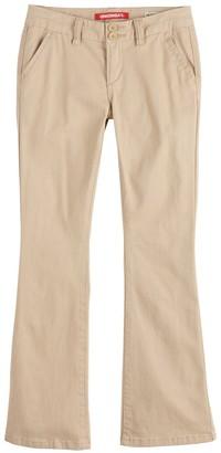 UNIONBAY Girls 7-16 Hayden Twill Trouser Pants