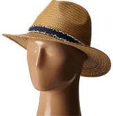 Vince Camuto Frayed Band Panama Hat
