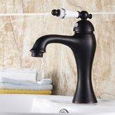 BXM*faucet WYMBS Creative furniture decoration bathroom accessories European-style black-bronze-copper basin mixer