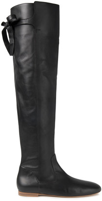 Gabriela Hearst Leather Knee Boots
