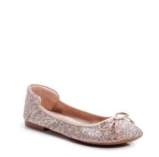 Paradox London Glitter 'Xailya' Comfort Ballerinas