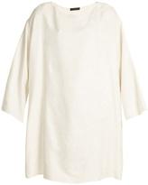 The Row Tharpe silk-jacquard dress