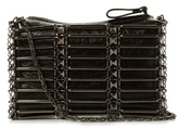 Valentino Rockstud caged leather cross-body bag