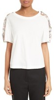 3.1 Phillip Lim Women's Topstitched Ribbon Tee