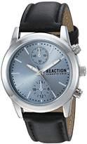 Kenneth Cole Reaction Women's Quartz Metal Casual Watch, Color:Black (Model: RK50108006)