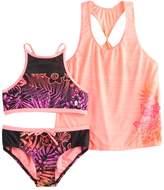 ZeroXposur Girls 7-14 3-pc. Bikini Set