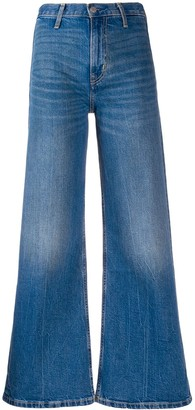 Calvin Klein Jeans high rise flared jeans