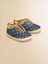 Juicy Couture Infant's Slip-On Espadrille Flats
