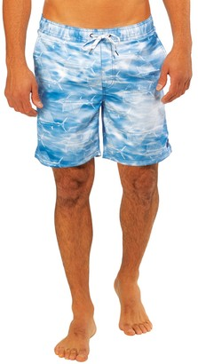 Caribbean Joe Men's Sailfish Swim Trunks
