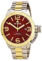 TW Steel Men's CB72 Analog Display Quartz Two Tone Watch