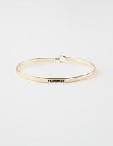 Full Tilt Feminist Cuff Bracelet