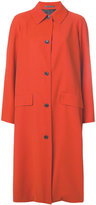 Paul Smith button up coat - women - Cupro/Viscose/Wool - 38