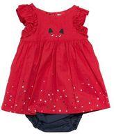 Catimini Girls Percale Dress