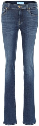 7 For All Mankind B(AIR) mid-rise bootcut jeans