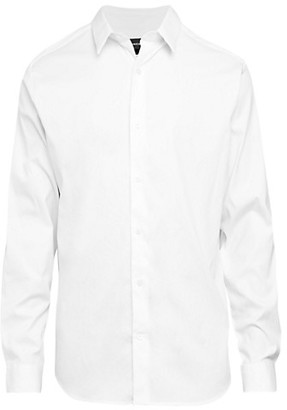 Vince Solid Stretch Shirt