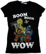 Sesame Street Jim Henson Boom Boom Wow Boombox Vintage Style Soft Jrs Babydoll