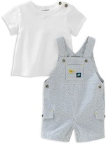 Absorba Infant Boys' Tee & Shortall Set - Sizes 0-9 Months