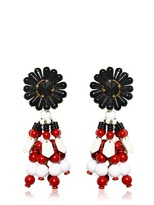 Marni Beaded Clip Earrings