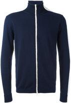 Moncler bi-colour zip cardigan - men - Cotton - XL