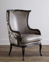 Horchow Massoud Celeste Wing Chair