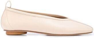 Rosetta Getty Nappa ballerina shoes