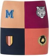 Stella McCartney 'Moana' melton mini skirt - women - Cotton/Polyamide/Viscose/Wool - 42