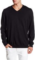 HUGO BOSS V-Neck Wool Sweater