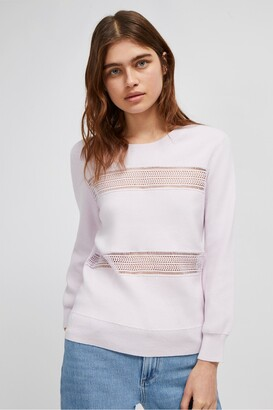 French Connection Nerina Ladder Mix Jumper