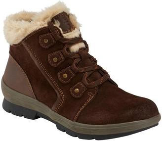 Earth Origins Sherpa Scarlett Women's Winter Ankle Boots