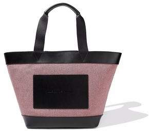 Alexander Wang Leather-Paneled Canvas Tote