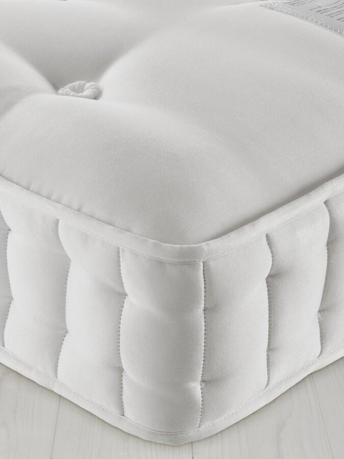John Lewis & Partners Natural Collection Fleece Wool 8400, Super King Size, Firm Tension Pocket Spring Mattress