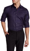 Toscano Cutaway Gingham Regular Fit Shirt
