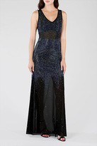 Wow Couture Rhinestones Maxi Dress