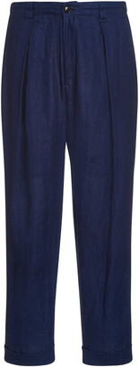 Blue Blue Japan Cotton-Linen Chino Pants