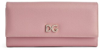 Dolce & Gabbana Leather Continental Wallet
