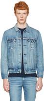 Levi's Levis Blue Denim Trucker Jacket