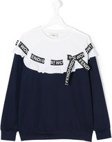 Fendi 'Wow!' jumper