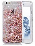 Urberry Iphone 6s/6 Case,Running Glitter Cover, Luxury Bling Glitter Case for iPhone 6s/6 4.7 inch with a Screen Protector