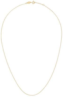 Anni Lu Cross 18k gold-plated silver chain