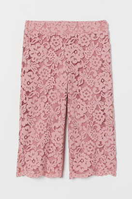 H&M Lace trousers