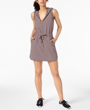 Ideology Woven Hoodie Dress, Created for Macy's