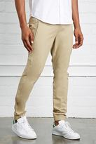 Forever 21 Slim-Fit Woven Joggers