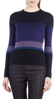 Akris Punto Women's Colorblock Wool Pullover