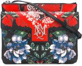 Alexander McQueen Insignia table cloth satchel